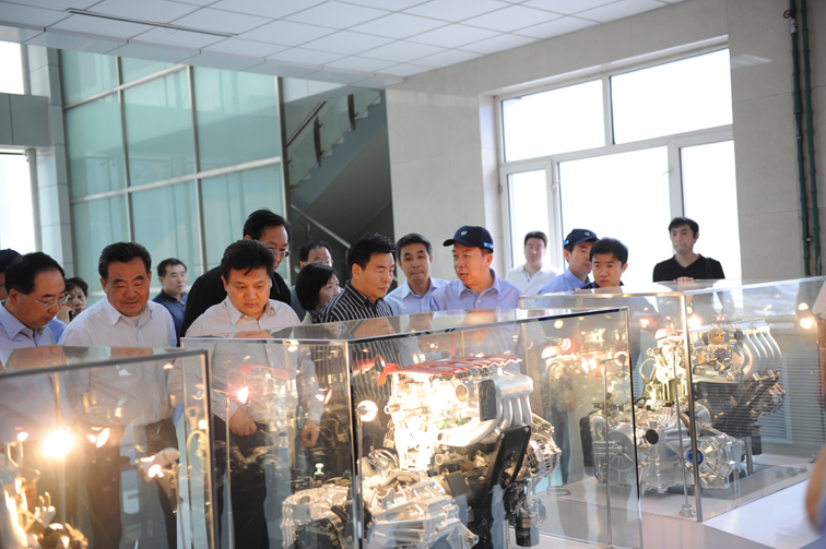 In May, 2010, Wang Hongju , National People's Congress, Environment and Resources Conservation Committee deputy director, and its party visit our company to inspect and instruct the work