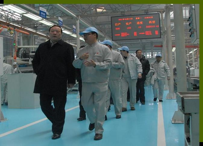 On February 14, 2011, Xu Guangguo, Heilongjiang province vice governor, came to our company to instruct the work