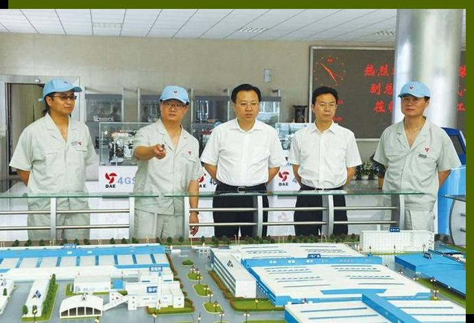 On July 5, 2010, Li Shouwu, deputy general manager of Weapon and Equipment Group, Yang Jian, party committee deputy Secretary of China ChangAn Group ,came to our company to instruct the work